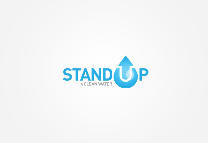 stand up 4 clean water logo